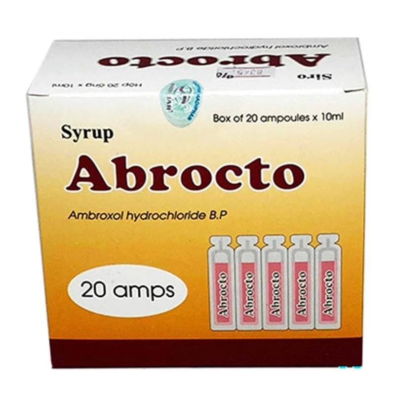 ABROCTO (Hộp 20 ống x 10ml)
