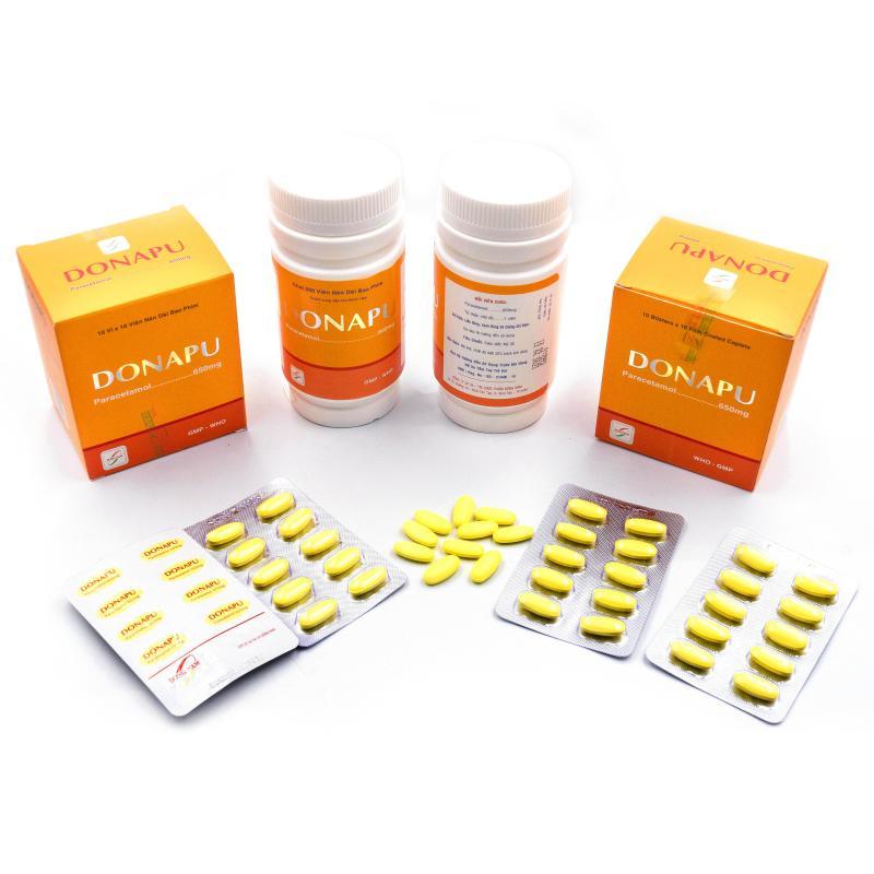 DONAPU 650mg (Paracetamol)