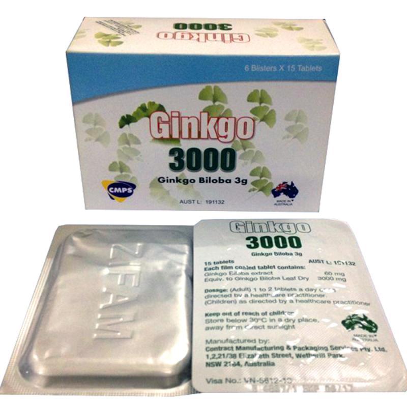 GINKGO 3000 (Hộp 6 vỉ x 15v)