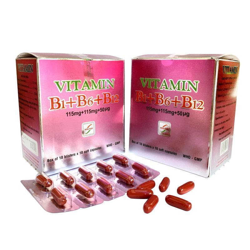 Vitamin B1 B6 B12
