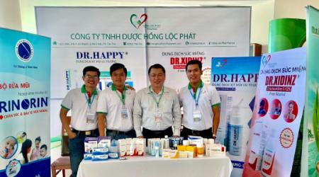 Hồng Lộc Phát tham dự Hội nghị Tai-Mũi-Họng 2021 tại Kiên Giang
