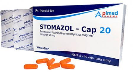 Stomazol - Cap 20, Tác dụng & Liều dùng